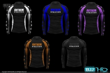 Today on BJJHQ Anthem Athletics Ranked Rashguard - $32